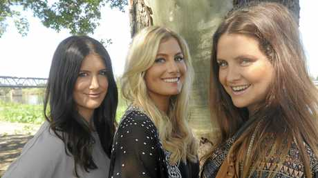 THE McCLYMONTS: Mollie, Sam and Brooke are coming home to play at the Saraton Theatre in August.