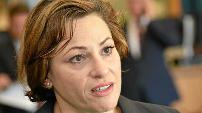 Deputy Premier Jackie Trad, who announced the new land clearing policies.
