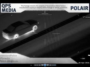 WATCH: Police chopper tracks offender in Toowoomba