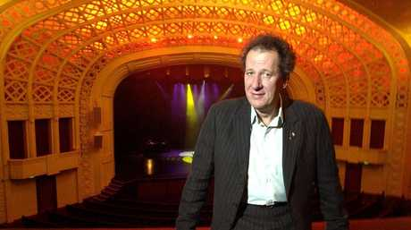 Actor, Geoffrey Rush, at the Empire Theatre, Toowoomba.