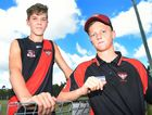 YOUNG LIONS: Hervey Bay Bombers Juniors duo Noah Parry (left) and Riley Matheson (right) are both part of the Brisbane Lions Academy, along with fellow Bomber Jasper Wright.