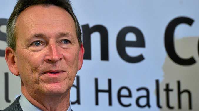 Sunshine Coast Health Service chief executive Kevin Hegarty.