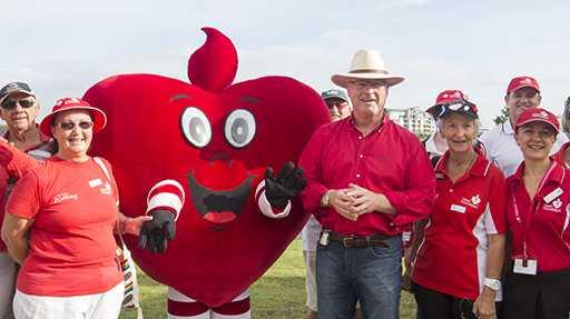 Mayor Mark Jamieson launched Heart Week.