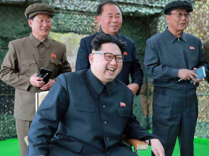 North Korea leader Kim Jong-un.