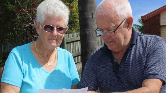 SCAM WARNING: Beverley and David Whalley are warning the community to be vigilant after they were targeted in well written scam.Photo Tom Threadingham / Gatton Star