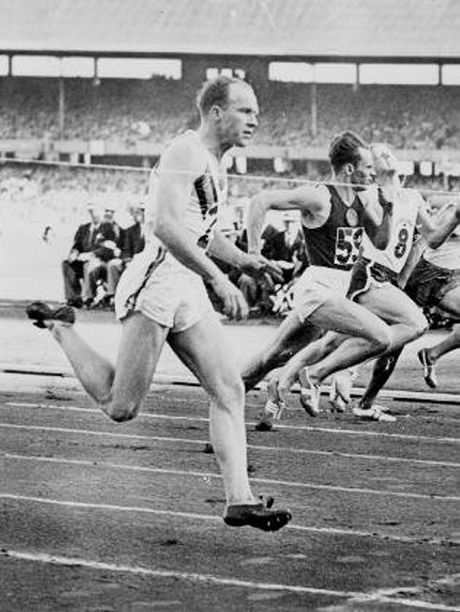 Hector Hogan competing in the Olympics.