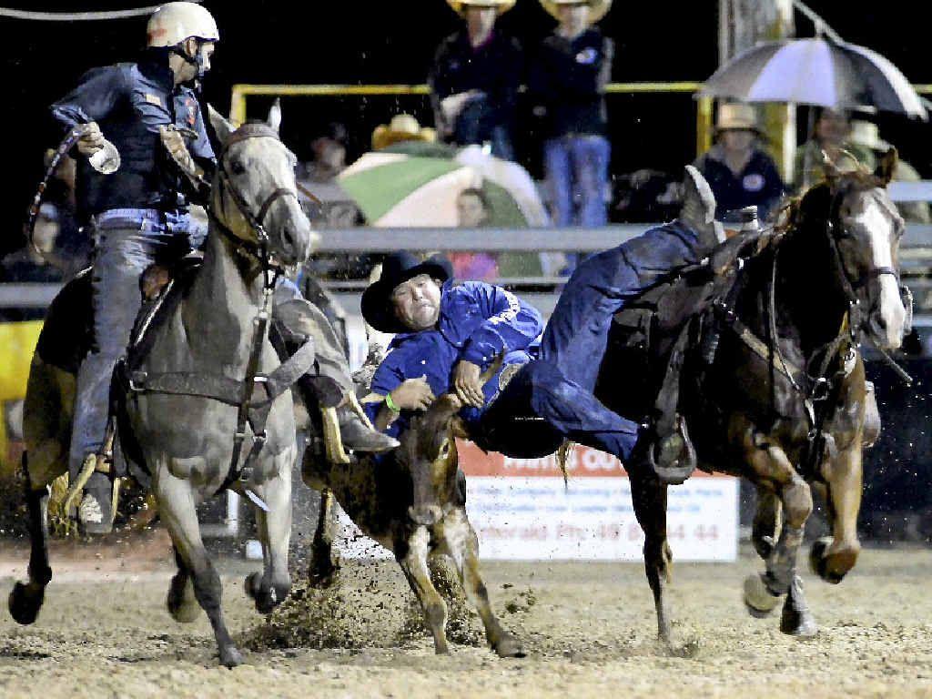 Jarrod Deguara is organising and riding at Saturday's Nebo Rodeo.