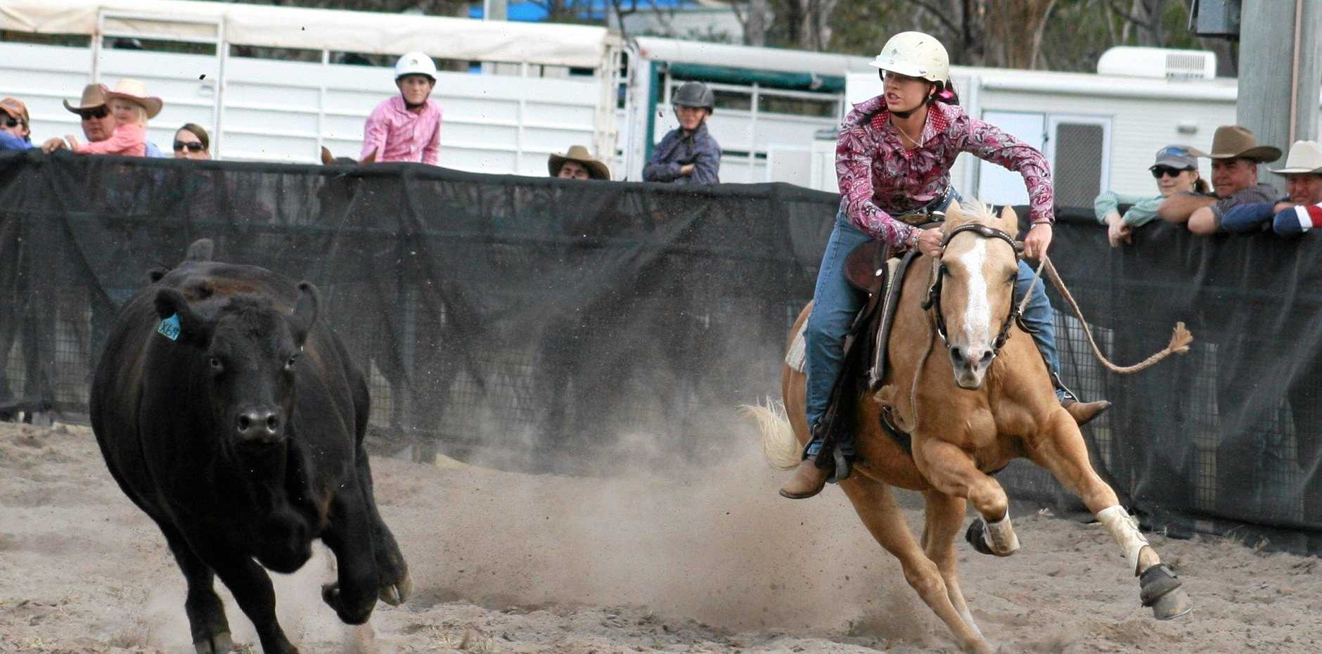CUT OUT: Action from the 2105 Stanthorpe Campraft, with the 2016 event tipped to top the field.