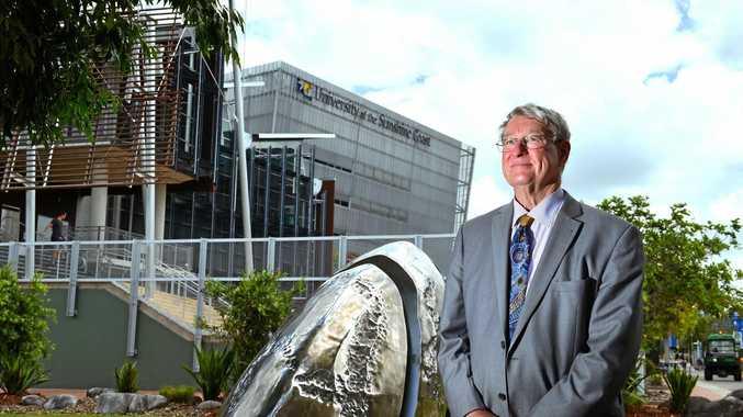 University of the Sunshine Coast vice-chancellor professor Greg Hill.