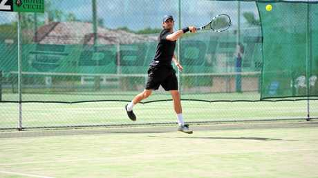 Lismore tennis player Brendan Moore won the Hotel Cecil Casino Open for a record seventh time.