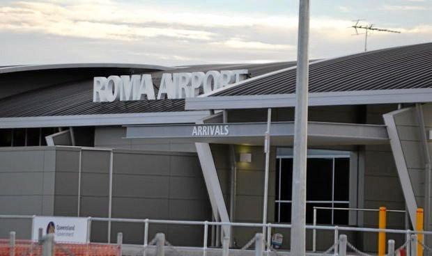 Roma Airport.