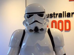 "Lismore stormtrooper calls for blood donations to help the ""Imperial war effort"""