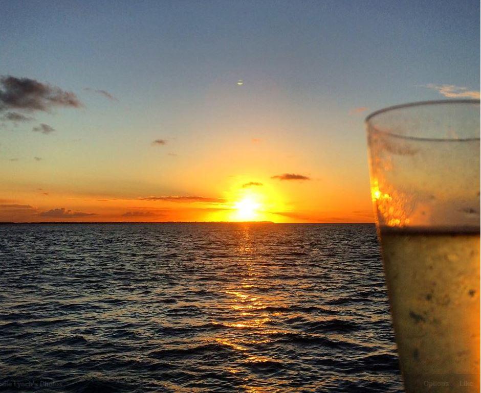 Take mum on a sunset cruise