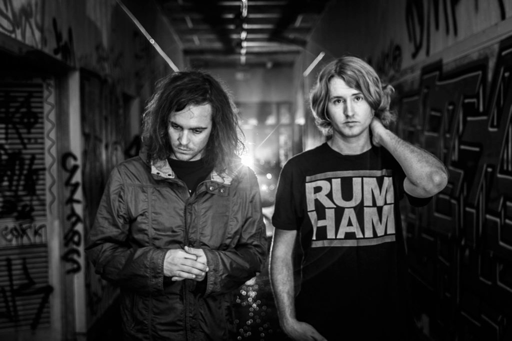 DZ Deathrays Shane Parsons and Simon Ridley.
