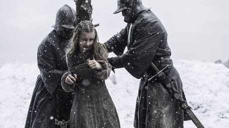 Kerry Ingram as Shireen in a scene from Game of Thrones.