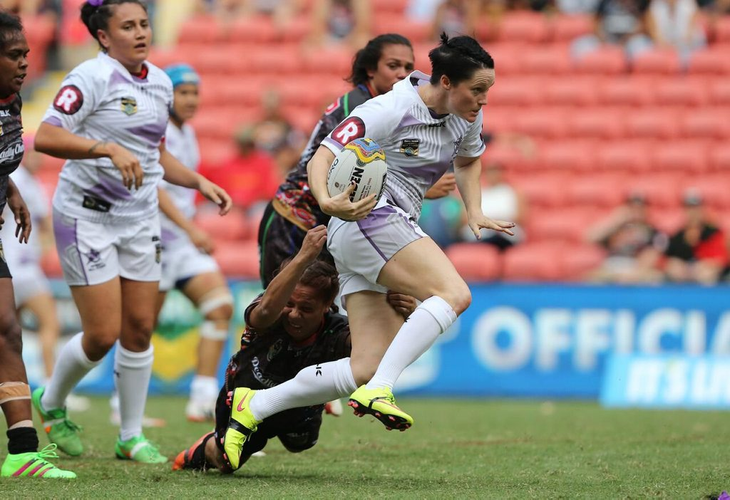 POWER: Gladstone's Chelsea Baker cannot wait for Friday night's Test Match against the Kiwis.