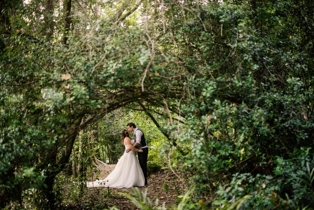 Matthew Offer and Rachael Wootton were married on Saturday 23rd April at the Tondoon Botanic Gardens.