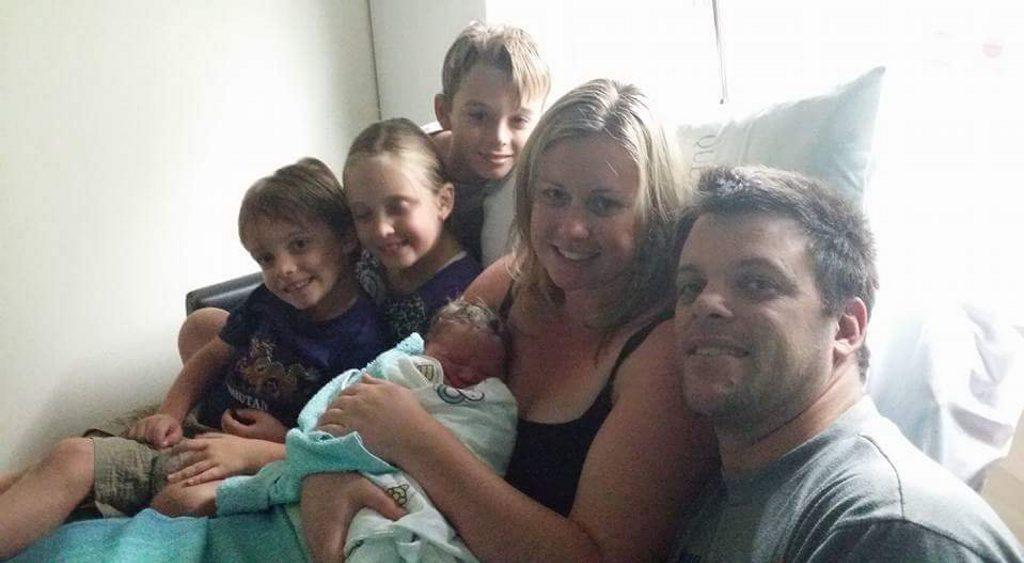 Samuel Morgan Binns, April 21, born at Gladstone Hospital, 6.06am weighing 4060 grams, 56cm long to parents Morgan and Narelle Binns, siblings Michael, 10, Sophie, 8, and Joshua, 4.