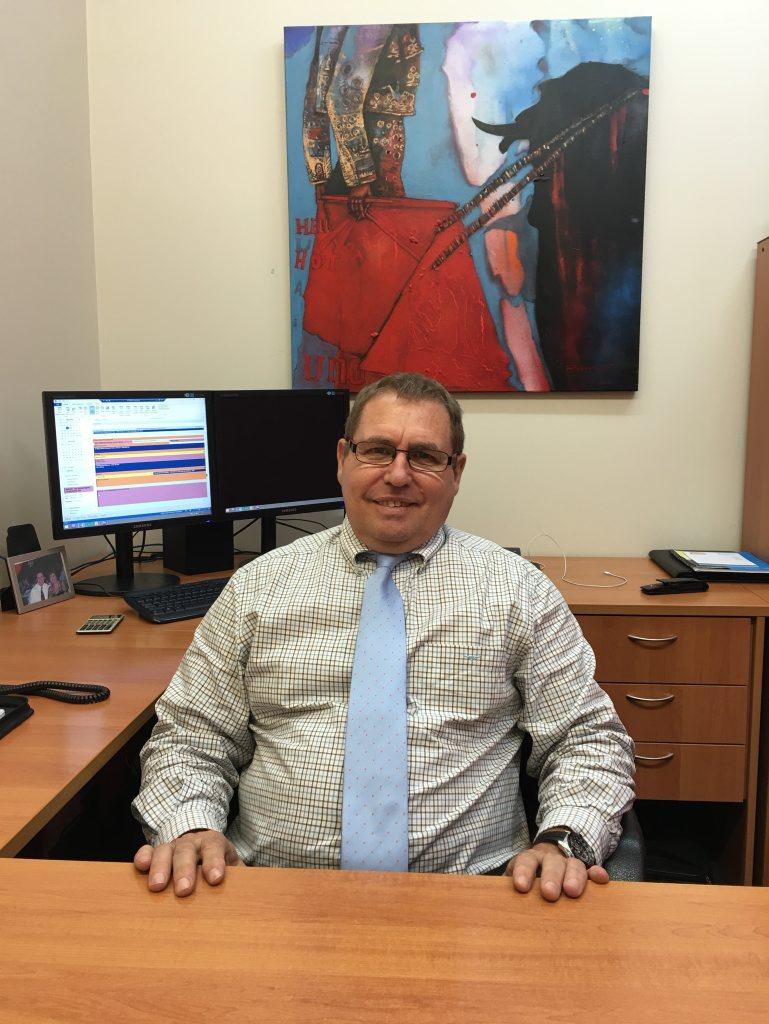 GTC Financial managing director Neville Hughes.