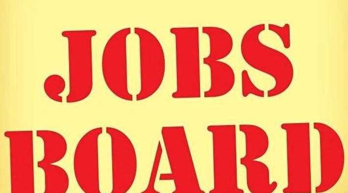 Jobs board graphic.