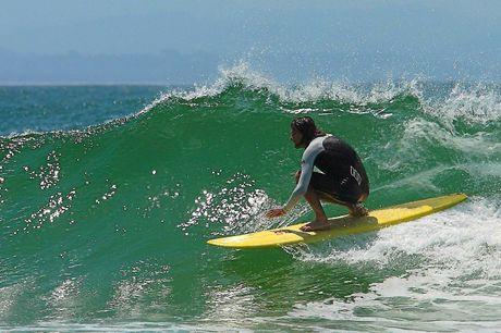 Derek having some finless fun.