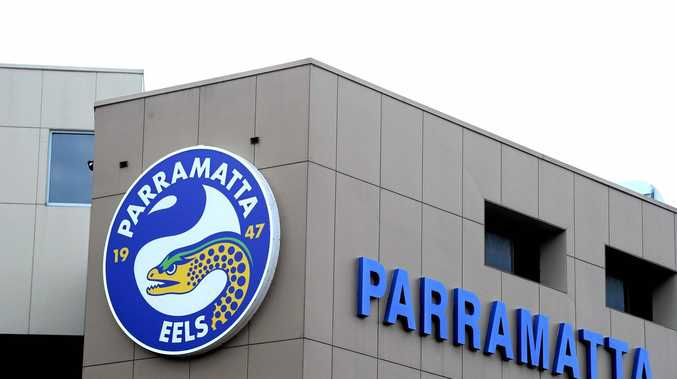 NOW WHAT: Parramatta has felt the force of the NRL over its breach.