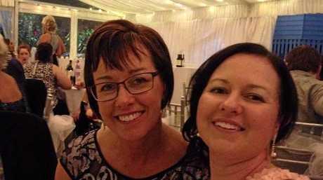 Kristy Elks with her mum