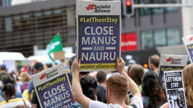 SYDNEY: Thousands of Australians are taking to the streets to protest the policy of off-shore detention for asylum seekers.