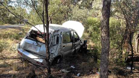 TEEN SAVED: A 17-year-old was airlifted to hospital after a crash on the Gore Hwy, south-west of Millmerran.