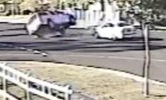 Shocking crash captured at Darling Downs intersection