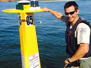 Shark listening station installed off Evans Head beach