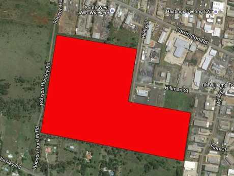 The 24.9ha block recently sold in Torrington, Toowoomba.