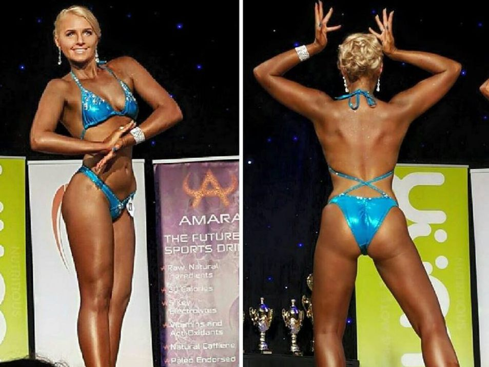 Taylor Butcher has thrived in her new-found passion of body building.