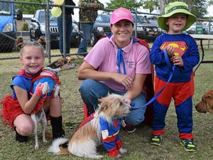 Chinchilla joins Million Paws Walk for the voiceless