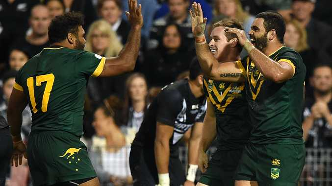 Australia may have been celebrating during the Anzac Test, but not the viewers. Photo: AAP Image.