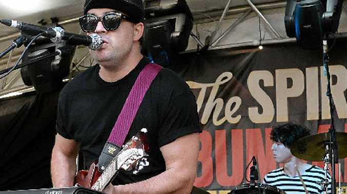ON STAGE: Eden Mulholland performing at the Spirit of Bundaberg Festival.
