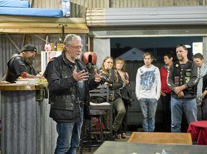 Bikies open clubhouse doors to marginalised in community