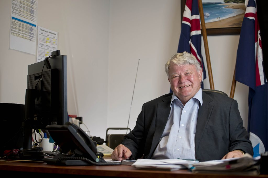 Federal member for Flynn Ken O'Dowd is campaigning for a third term. Photo Paul Braven / The Observer