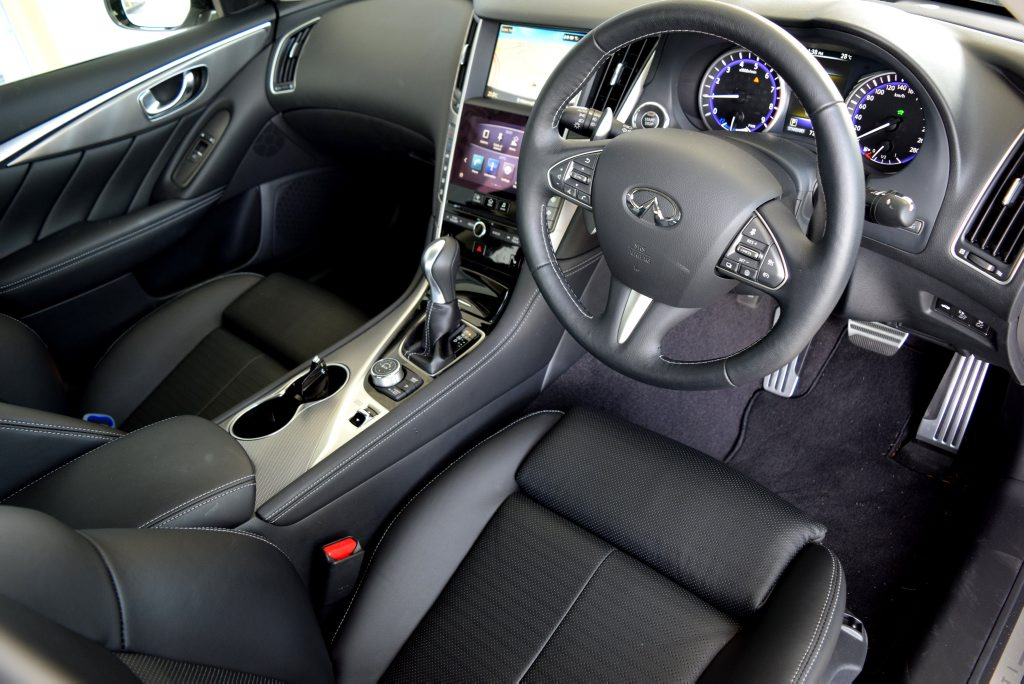 2016 Infiniti Q50 Hybrid S Premium. Photo: Iain Curry / Sunshine Coast Daily