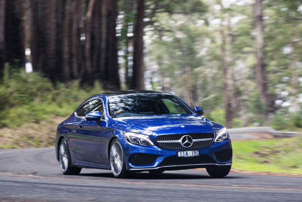 2016 Mercedes-Benz C-Class Coupe. Photo: Mark Bramley
