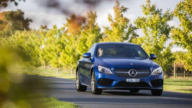 2016 Mercedes-Benz C-Class Coupe. Photo: Mark Bramley