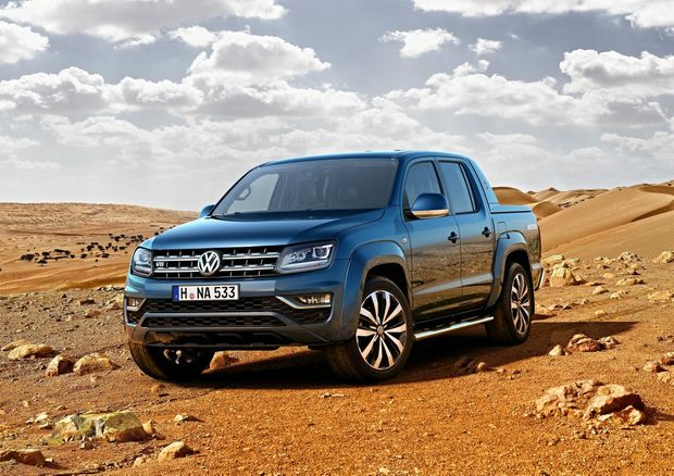 POWER UP: New V6 diesel engines for VW's Amarok ute will offer up to 165kW and 550Nm, while some variants will be able to tow 3500kg.