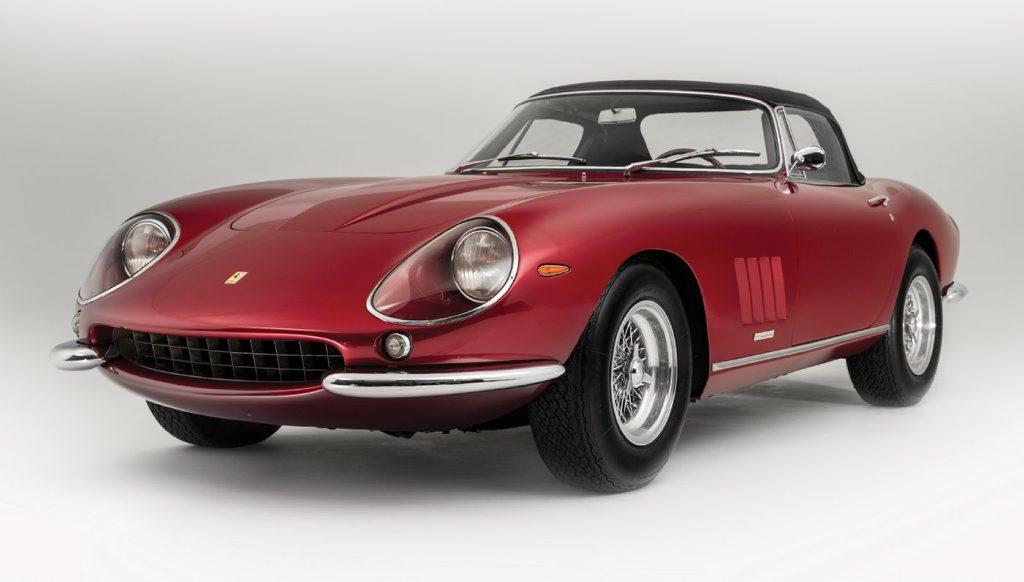 1968 Ferrari 275 GTS/4 NART Spider. Photo: Contributed.