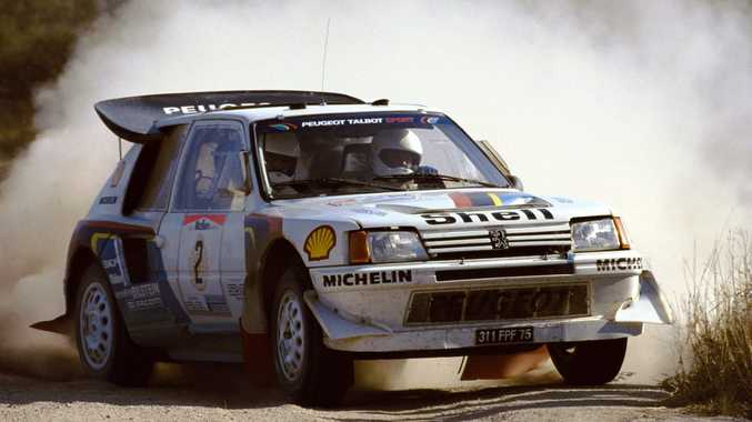 1985 Rallye Monte-Carlo winning Peugeot 205 T16 Group B rally car. Photo: Contributed.