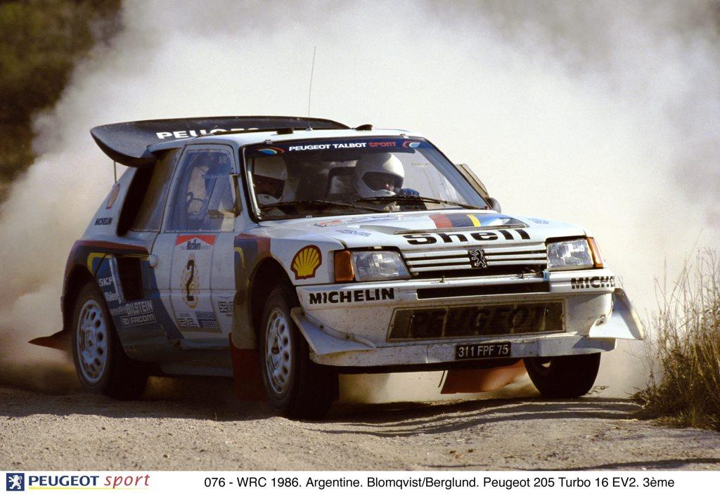 1985 Rallye Monte-Carlo winning Peugeot 205 T16 Group B rally car. Photo: Contributed.