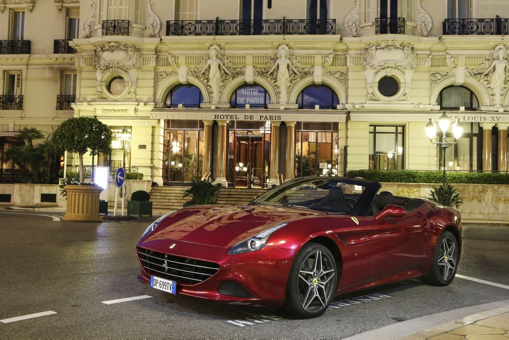 Erin Holland's dream car: a Ferrari California T. Photo: Contributed.