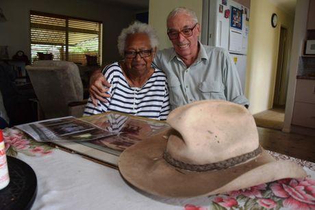 Norman and Audrey Hunter Photo Helen Spelitis / Gladstone Observer