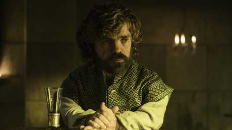 Peter Dinklage in a scene from season six, episode 3 of Game of Thrones.