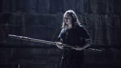 TRAINING: Arya Stark continues her journey in Braavos.