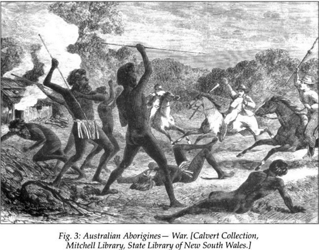 Aboriginal warfare.
